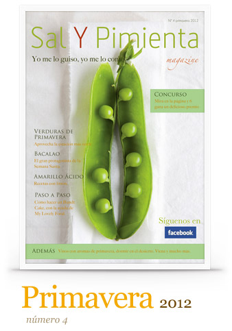 LLegó la primavera: Sal y Pimienta Magazine