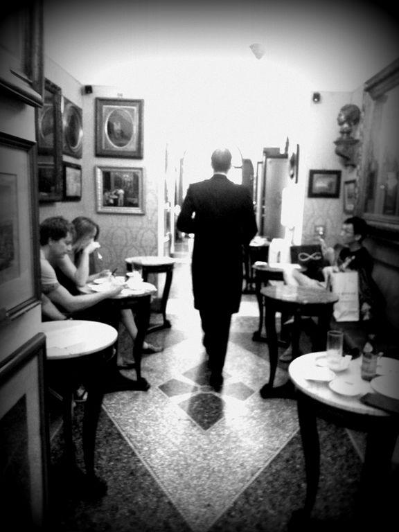 Caffé Greco, Roma . Cafés con historia