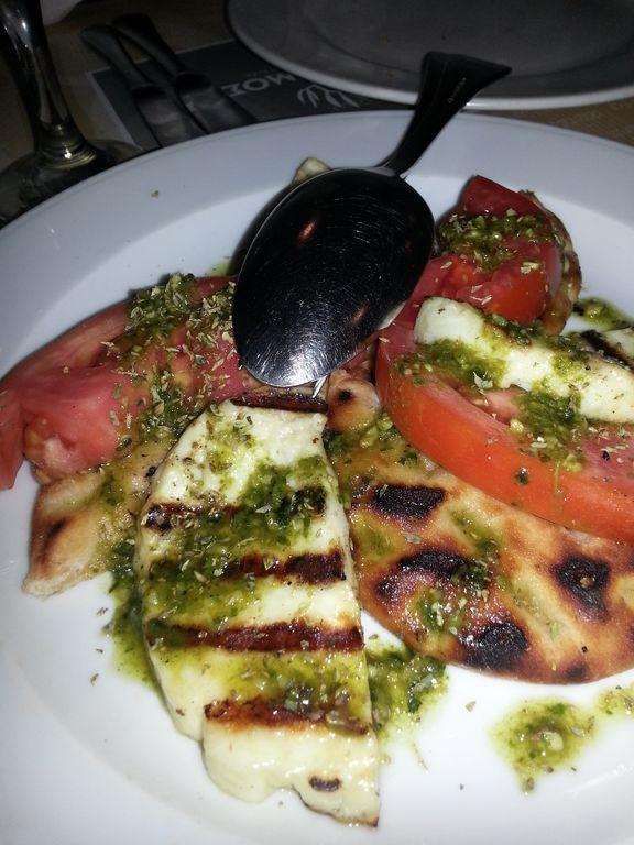 Comiendo en Atenas (2). Krithamos