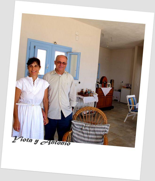 Chez Yiota et Antonio, Syros (Isla Ciclada, Grecia)