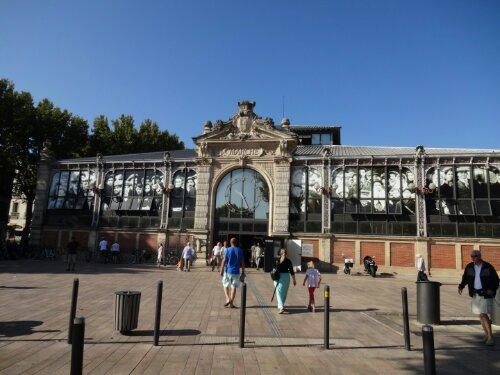 Mercado de Narbonne, Francia