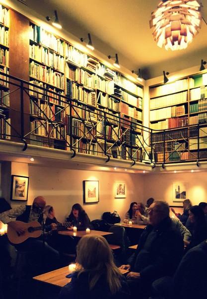 Paludan Bogcafé en Copenhagen