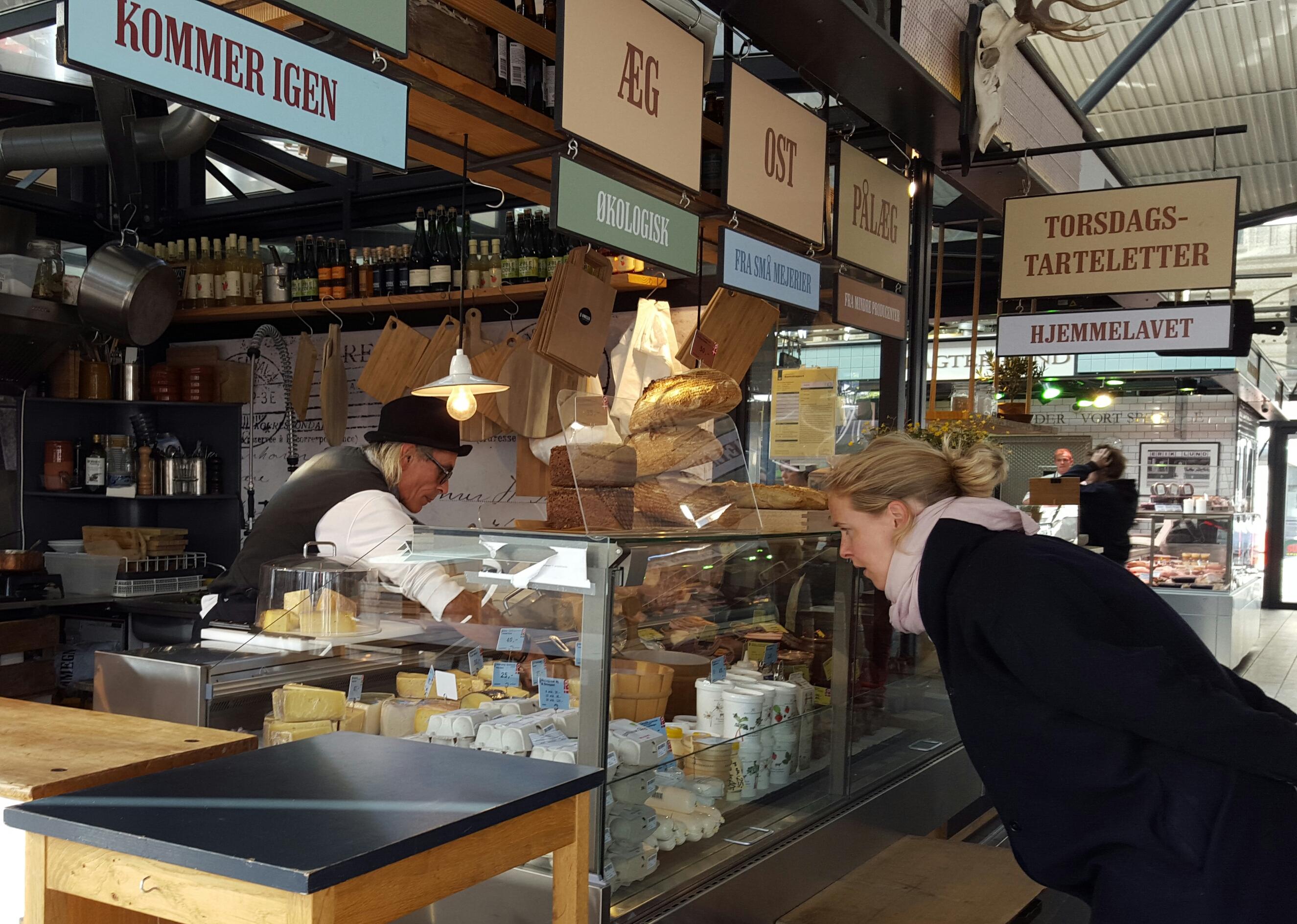 Torvehallerne: el mercado de delicatessen de Copenhagen
